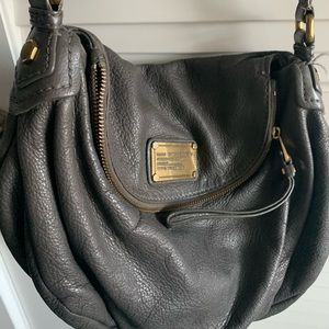 Grey leather Marc Jacobs bag